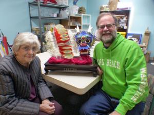 Kay Buesing and Jim Mockford